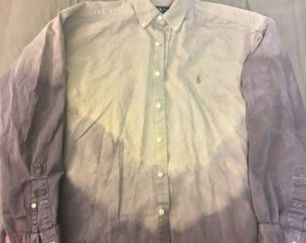 Polo Ralph Lauren dip dye button down