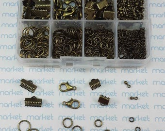 Box closures bronze varied accessories ref. 185211-2