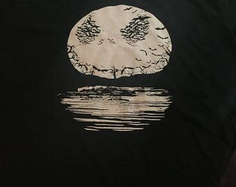 Jack Skellington Moon Shirt