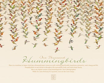 1,000 hummingbirds