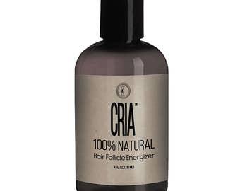 CRIA, 100% Natural, Vegan, Gluten-free Hair Follicle Energizer for new, vital, healthy hair!