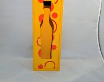 Wine box hand painted