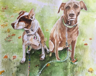 Personalized pet painting