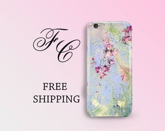 Plastic Case iPhone 6s Plus Art Flower iPhone 7 iPhone 6s Case iPhone 7 plus Floral iPhone SE Case Cell Phone Case iPhone 5s Watercolor bbi