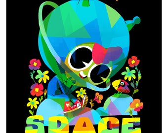Space Promotional Poster