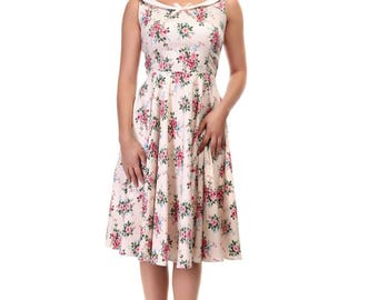 Collectif Maddison Floral Dress, Vintage Dress, Floral Dress, 1940s Dress, 1950s Dress, Vintage Style, Collectif Dress, Flower Dress