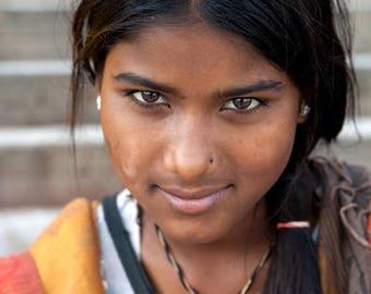 Girl in Varanasi