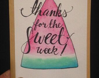 Thanks - Host - watermelon