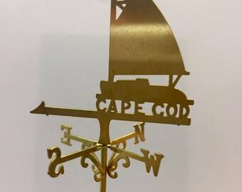 Cape Cod Brass Weathervane 1 inch scale