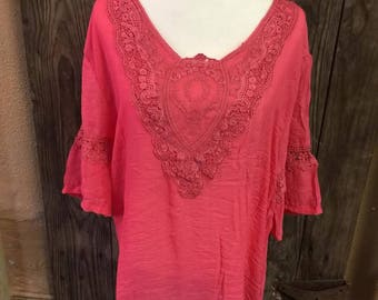 Cute Coral Dress One size fits most