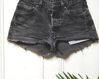 Vintage Levi Shorts 501 LEVI's Grey W29