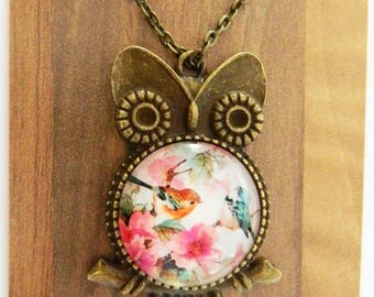 Owl of Nature Necklace