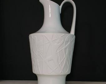 Edelstein White Jug Vase