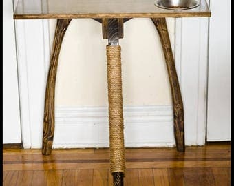 Cat Scratching Post and Dinner Table
