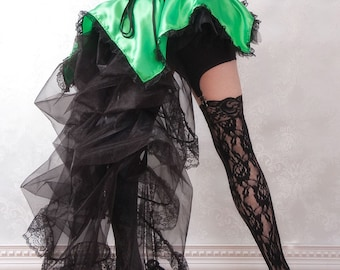 Pixie's Revenge - Steampunk Fairy Tutu Bustle Petal Skirt or Costume - Ready to Ship