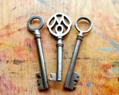 Rare Antique German Key Set // New Year Sale - 15% OFF - Coupon Code SAVE15