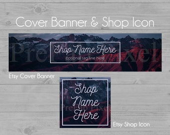 Nature Etsy Banner, Shop Cover Banner, Mountain Shop Banner, Etsy Banners, Landscape Banner, Scenic Banner, Cover Photo, Banners Etsy