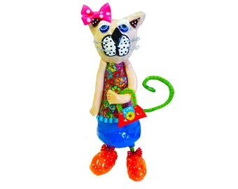 Cat, Modern Cat Art, Cat Figurine,  Cat Collectible, Home decor, Cat lover, Cat gift, Cat decor, Cat decoration, Cat lady, sculpture, cats