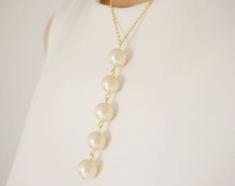Pearl Necklace Pearl Jewelry Wedding Necklace Wedding Jewelry Bridal Necklace Bridal Jewelry Bridesmaid Gift Bridesmaid Necklace Gift