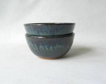 Pottery Soup Bowls Set of 2