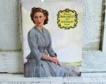 Vintage Booklet - Princess Margaret's 19th Birthday Book