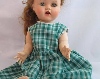"Vintage 16"" Saucy Walker Doll With Crier - Doll Project - Doll Restoration - Ideal Saucy Walker - Doll Collection"