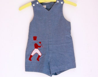 Vintage boys jonjon by MerryMites size 3t 4t Holiday Outfit