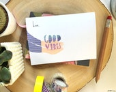 Good Vibes card cc207