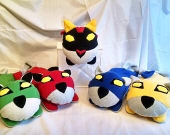 Voltron Lion Loaflings - Pillow Size