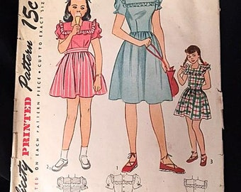 Miraculous Vintage Sewing Pattern Style Patterns Ltd 729 Designed Made Short Hairstyles Gunalazisus