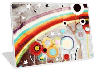 SKIN - Macbook Air / Macbook Pro / PC Laptop - Vintage Rainbow