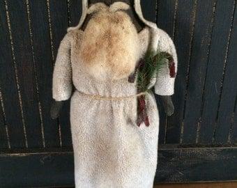 Primitive Olde-World Santa Doll
