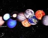 Planet Coasters//Solar System Coasters//Dining Accessory/Hostess Gift