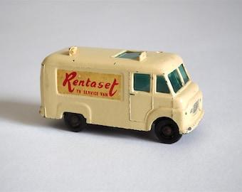 1963 Lesney Matchbox No.62 Rentaset TV SERVICE VAN Made in England (Item W 46)