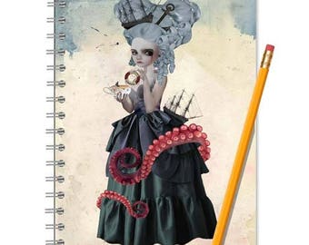 Fantasy Notebook - Fantasy Journal - LINED OR BLANK pages, You Choose