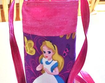 Alice in Wonderland - Water Bottle Cozy, Pop Holder, Sling, Drink Cozie