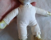 Vintage Porcelain Doll - Cat Porcelain Doll
