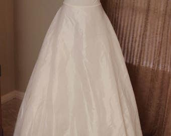 Vintage Wedding Slip - White - A-line