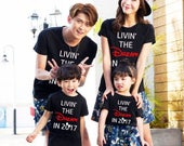 custom order - 4 Shirts disney family shirts Livin the DREAM in 2017