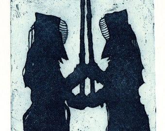 Protector / original etching