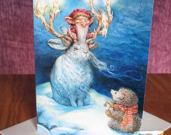 Greeting Card - Old Man of Winter