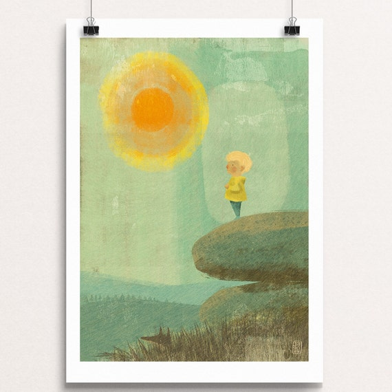 Noah on the Tor - Signed Print