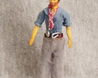 OOAK Vintage Revamped Schildkrot Man, Half Inch Scale NL