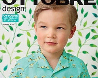 Ottobre Design Magazin Sewing Pattern for Kids  3 / 2017 Summer German Edition