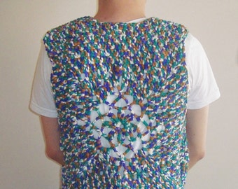 Music Festival Clothing Men Fringe Vest, Burning Man Mens Hippie Clothes, gypsy clothing mens Birthday Gift hippie gifts for man