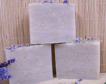 Rosemary Lavender Soap Shampoo Bar Soap Cold Processed Soap All Natural Vegan Soap