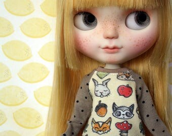 Animals sweater for Blythe, Dal, Licca...