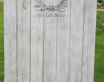 French Garden Courtyard Barn Shed wood door with French Advertising