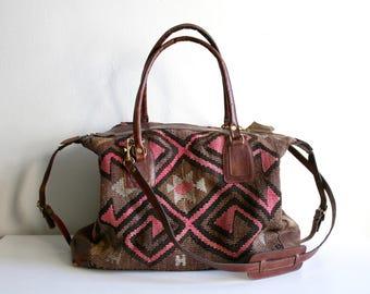 Veramin Kilim Duffle Bag