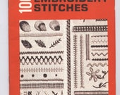 100 Embroidery Stitches - Coats & Clarks #150 - TIB12482